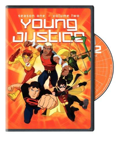 DVD : Young Justice: Season One: Volume 2 (Ecopak - Biodegradable PKG)
