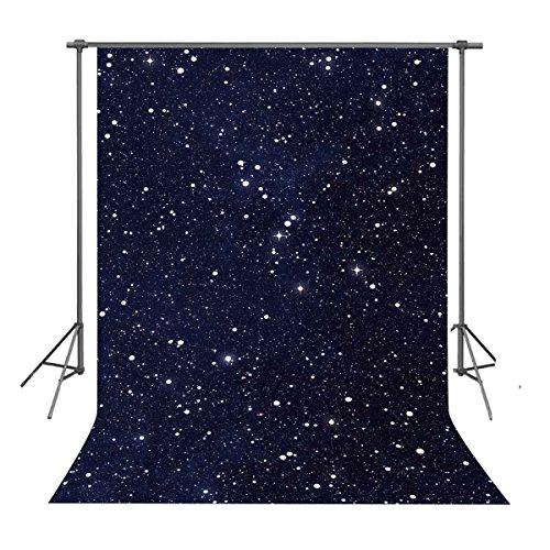 - FUERMOR Background 5x7ft Night Sky Stars Photography Backdrop Props Studio Photo Backdrops LXFU202