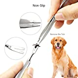 Tick Remover and Puller Removal Tool Set for