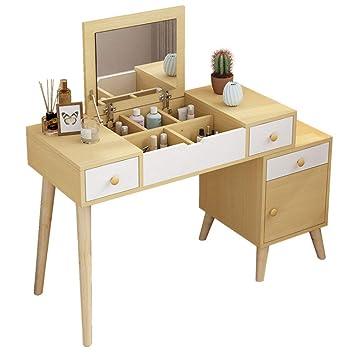 Amazon.de: KY Kosmetiktisch Schlafzimmer Schminktisch Multifunktions ...