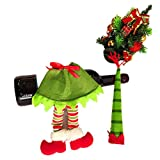 Best Creazydog Christmas Decorations - Creazy® New Stripe Wine Bottle Cover Bags For Review