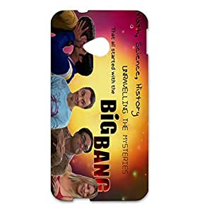 HTC One M7 Case 3D The Big Bang Theory Inspirational Quote Generic Case Back Cover