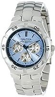 Nautica Men's N10075 Metal Round Multifunction Watch by Nautica