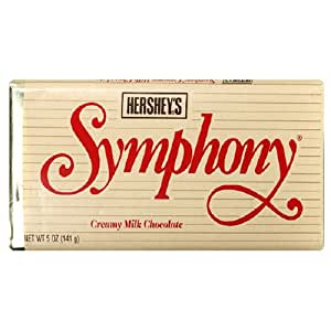 Symphony Extra-Large Milk Chocolate Bar, 5-Ounce Bars (Pack of 24)