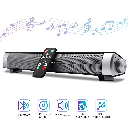 - Bluetooth Sound Bar 15.7
