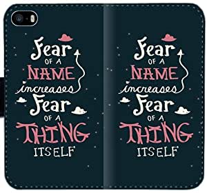 Caja de cuero Qajmfk Harry Potter Quotesokmqj T1Q1O Funda iPhone 4 4S Funda 7H5G3q de moda personalizada fundas caso del tirón del teléfono