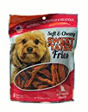 Carolina Prime Pet 45026 Beef Broth Infused Sweet Tater Fries Treat For Dogs ( 1 Pouch), One Size