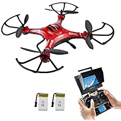 Potensic Upgraded F183D RC Quadcopter Drone with 2MP Camera