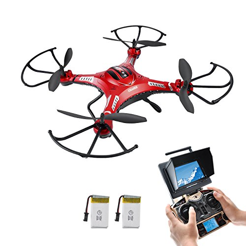 RC Quadcopter, Potensic Upgraded F183D RTF Drone w…