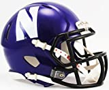 NCAA Northwestern Wildcats Speed Mini Helmet