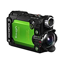 Olympus Tough TG-Tracker 4K Action Camera, Green