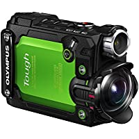 Olympus TG-Tracker with 1.5-Inch LCD (Green) Key Pieces Review Image
