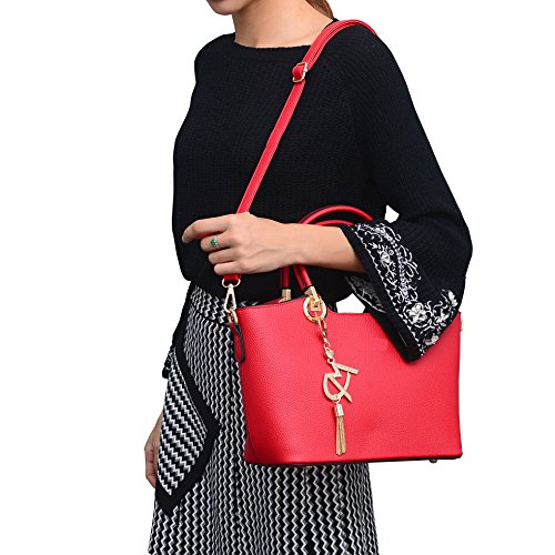 Dissa Shoulder Womens Size Bag Red One xHxzRvwa