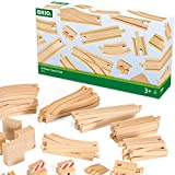 BRIO 33772 Special Track Pack | 50 Pieces of Wooden