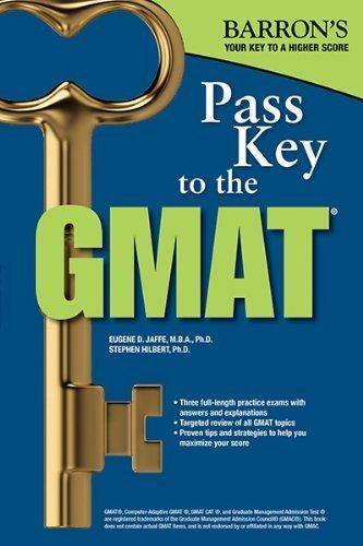 Pass Key to the GMAT (Barron's Pass Key the Gmat) by Umar MBA, Bobby, Pyrdum III, Carl S. (2014) Paperback