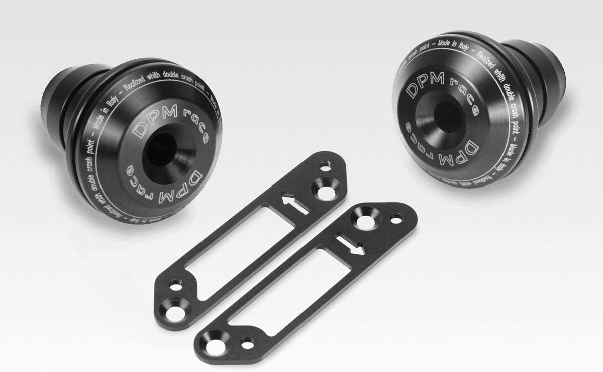 De Pretto Moto Accessories - Aluminium Engine Guard Protectors Crash Pads XSR700 2015//20 Hardware Fasteners Included DPM Race R-0737 - 100/% Made in Italy Kit Frame Sliders Warrior