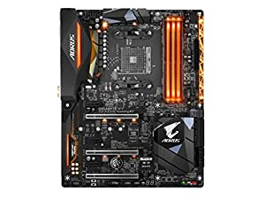 Gigabyte GA-AX370-Gaming K7 AM4 AMD X370 RGB FUSION SMART FAN 5 HDMI M.2 U.2 USB 3.1 Type-C ATX DDR4 Motherboard