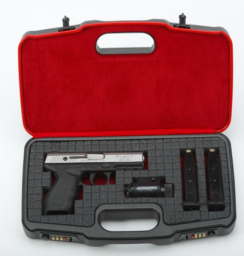 Negrini Cases 2018TS/4835 Compact Handgun Case for ABS 1 Gun