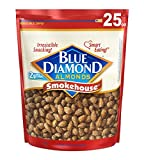 roasted almonds blue diamond - Blue Diamond Oven Roasted Almonds, Smokehouse, 25 Ounce