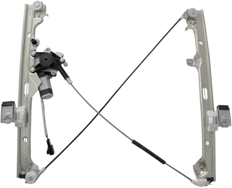 WIN-2X New 1pc Front Passenger Right Side Power Window Regulator With Motor Assembly Fit Chevy//GMC//Cadillac Silverado Sierra Classic Body Suburban Avalanche Tahoe Yukon XL Escalade EXT ESV