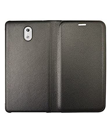 COVERNEW Flip Cover for Nokia 3   Black