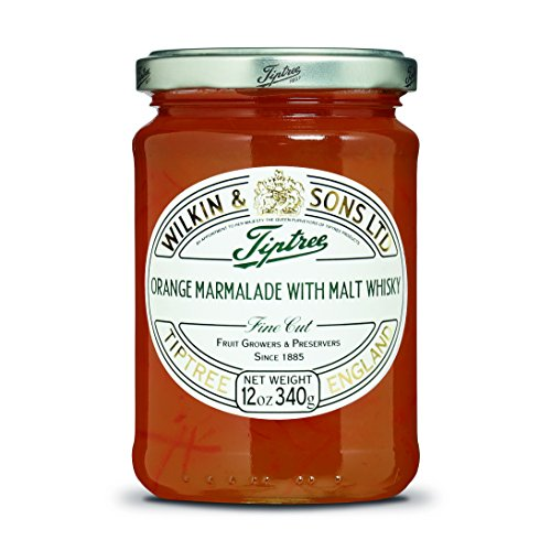 Tiptree Orange & Whisky Marmalade, 12 Ounce Jar