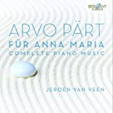 Arvo Part: Complete Piano Music - Für Anna Maria