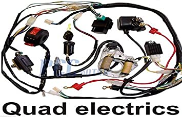 Amazon.com: 3.5L 50/70/90/110CC WIRE HARNESS WIRING CDI ASSEMBLY ATV QUAD  COOLSTER 3050C WH04+: AutomotiveAmazon.com