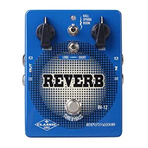 biyang rv 12 electric guitar bass effect pedal stereo reverb true bypass musical. Black Bedroom Furniture Sets. Home Design Ideas