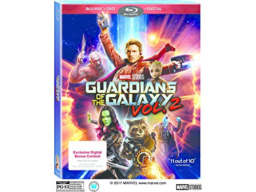 Guardians Of The Galaxy: Volume 2 (Blu-ray + DVD + Digital) Exclusive Digital Bonus Content
