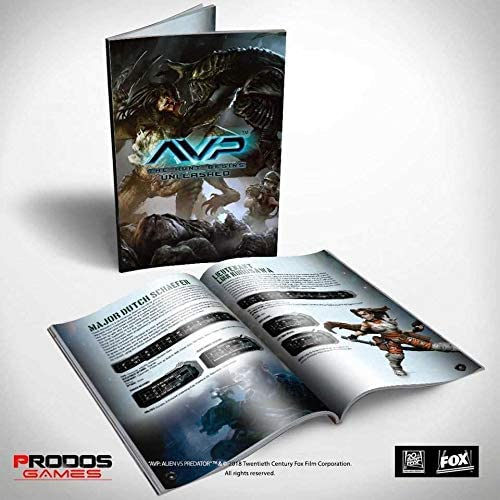 Prodos Games Alien vs Predator Tabletop Game Rulebook *English Version Giochi: Amazon.es: Juguetes y juegos