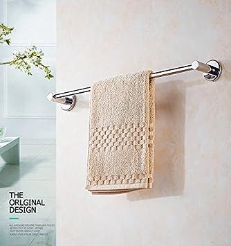Toalla de baño o cocina Bar titular de Rack de almacenamiento de montaje en pared,organizar todo el estante con toallas y toallas, Acero Inoxidable: ...
