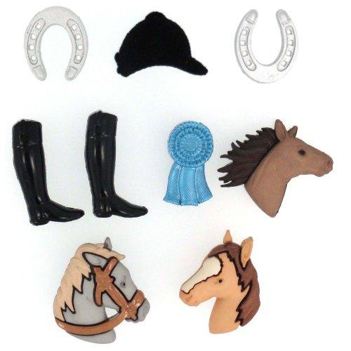 Horse Buttons - 2