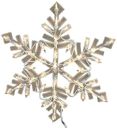 Outdoor Lighted Snowflake Ornaments in US - 3
