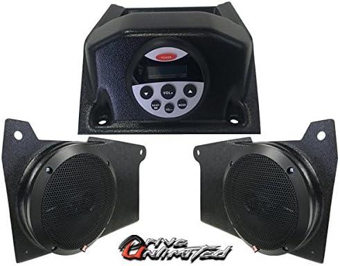 ドライブ無制限の2018ポラリスレンジャーxp1000AM/FMステレオシステム–2つロックフォードFosgateスピーカー