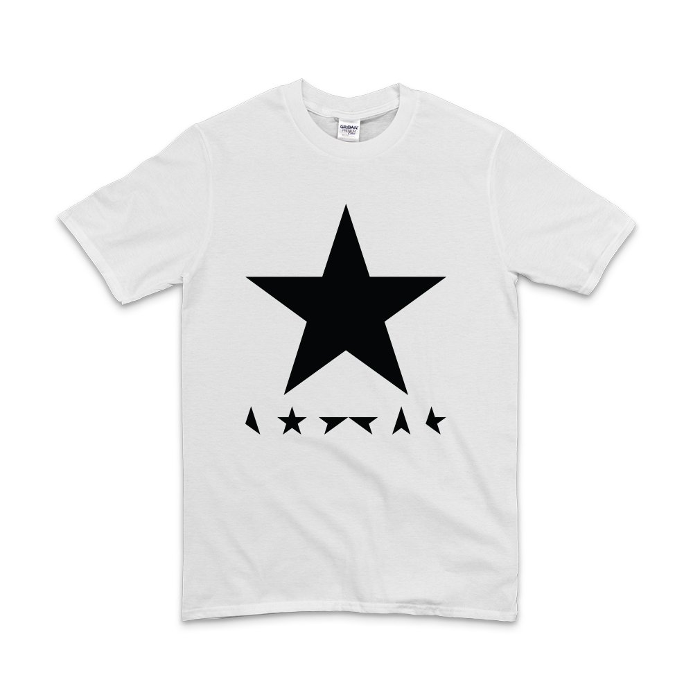 Illegal Art Boutique David Bowie Blackstars/ /T Shirt