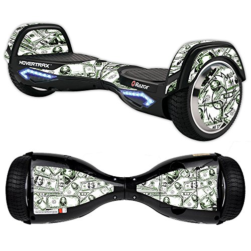 MightySkins Skin Compatible with Razor Hovertrax 2.0 Hover Board - Phat Cash | Protective, Durable, and Unique Vinyl Decal wrap Cover | Easy to Apply, Remove, and Change Styles | Made in The USA
