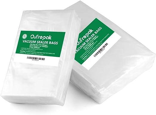 Vacuum Sealer Bags Quart Food Saver Seal-A-Meal 8 X 12 100 Freezer Storage Fresh