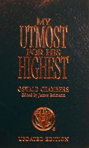 My Utomost for his Highest