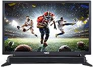 NAXA Electronics NTD-2460 24-inch 720p HD Class LED TV with Built-in Sound Bar & DVD Player, Black