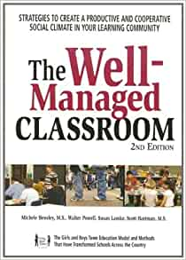 the importance of a well managed classroom Classroom management is how teachers run the day-to-day business of teaching and learning it is how you maximize student potential by creating an environment that is conducive to learning one of the qualities of a good teacher is knowing how to use procedures to produce stellar results, and the corporate world applies this principle as well.