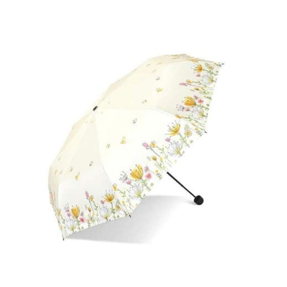 Wuzhongdian Sun Umbrella,Foldable,Sunscreen Coating Color : Purple Windproof UV Protection Big Straight Umbrella
