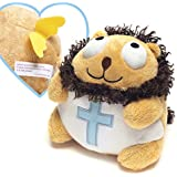 Lion Angel with Bible Verse Christian Stuffed Toy for Easter, Baptism and more - Ethan the Lion
