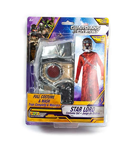 Boys Superhero Halloween Costume Set, Kids Guardians of The Galaxy Costume Kit (Peter Quill Star Lord) -