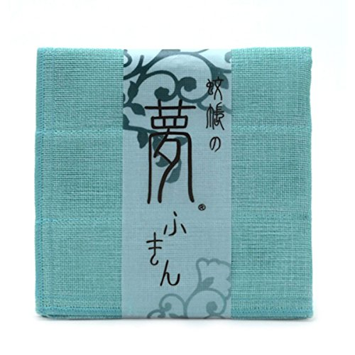 Nawrap Kaya Dishcloth, Light Blue, Traditional Japanese Weave - Strong & Absorbent