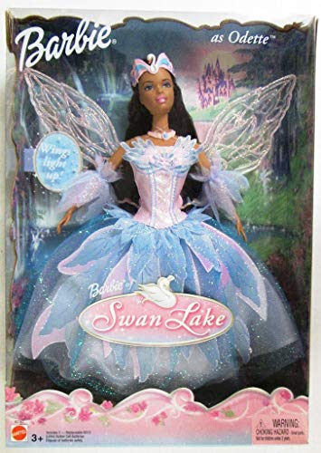 Swan Lake Barbie as Odette Doll AA w Light Up Wings (2003)