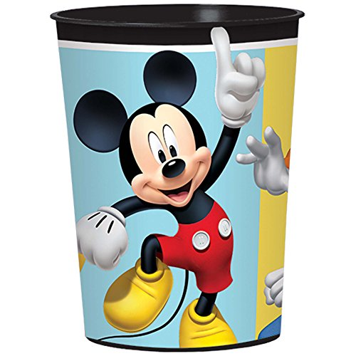 Mickey Mouse Birthday Party Supplies 12 Pack Favor Cups]()