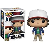 Funko Pop!- Stranger Things Dustin Figura de Vinilo,, Estándar (13323)