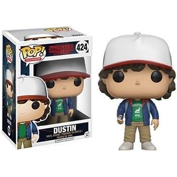 Amazon.com: Funko Pop Keychain Stranger Things Dustin Action ...