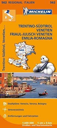 michelin-trentino-sdtirol-venetien-friaul-julisch-venetien-emilia-romagana-strassen-und-tourismuskarte-1-400-000-michelin-regionalkarten